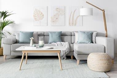 Color blanco y madera
