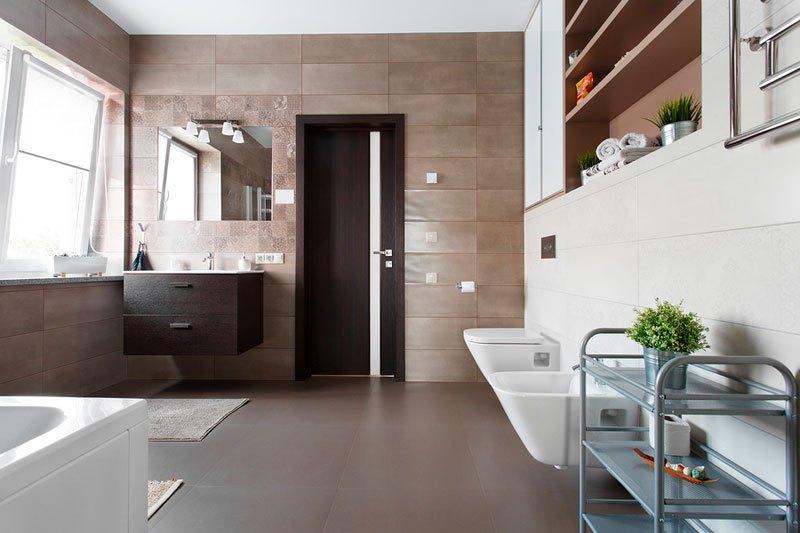 Muebles tonos neutros y madera