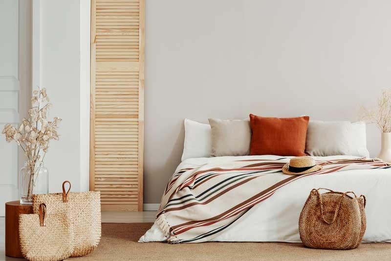plaid sofa cama