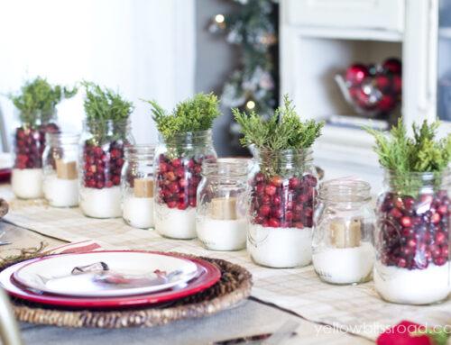 Centros de mesa para tu navidad