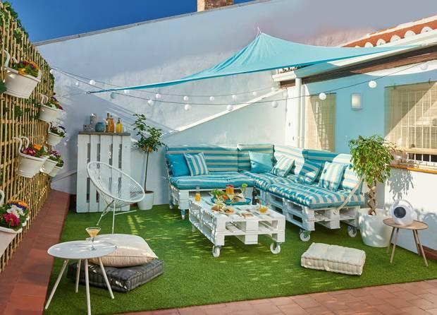 ¿Cómo decorar una terraza?