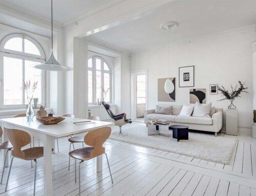 Muebles blancos con estilo para dar en el blanco con la decoración de tu hogar