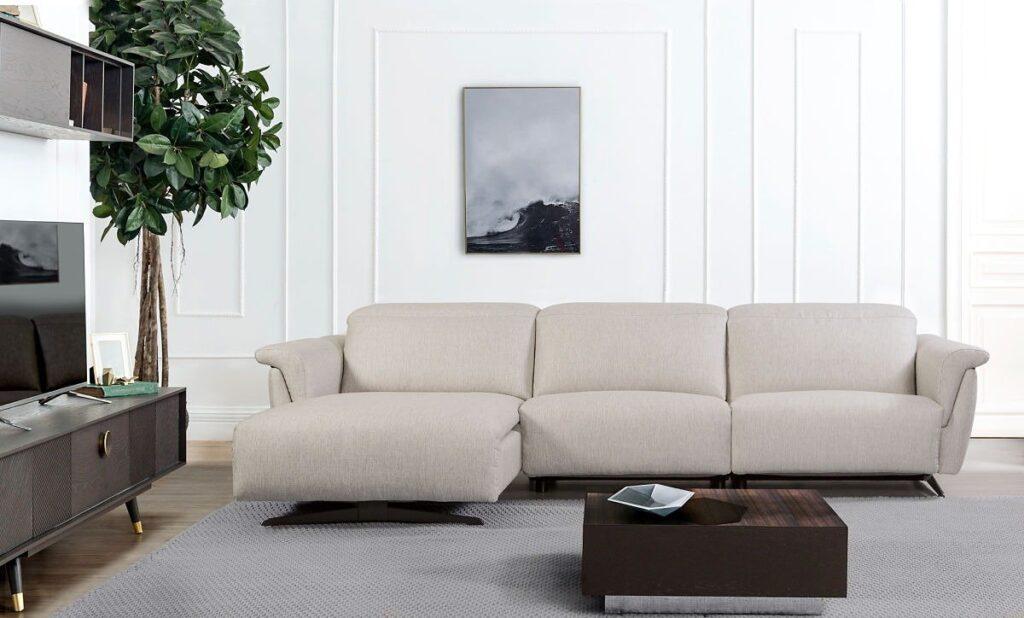sofá crema